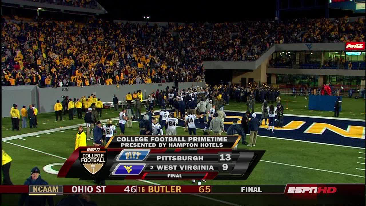 Exceptionnel 2007 Pitt Backyard Brawl Final Score